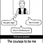 the courage to be me_web poster03
